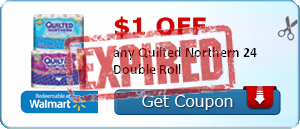 $1.00 off any Quilted Northern 24 Double Roll