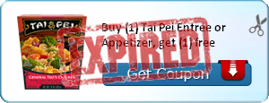 Buy (1) Tai Pei Entree or Appetizer, get (1) free