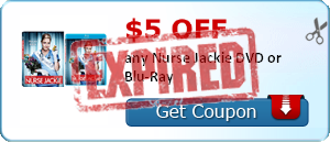 $5.00 off any Nurse Jackie DVD or Blu-Ray