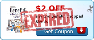 $2.00 off any two Beneful Chopped Blends