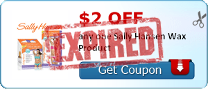 $2.00 off any one Sally Hansen Wax Product