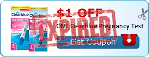 $1.00 off ONE Clearblue Pregnancy Test