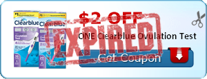 $2.00 off ONE Clearblue Ovulation Test