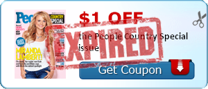 $1.00 off the People Country Special issue
