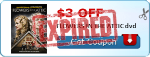$3.00 off FLOWERS IN THE ATTIC dvd