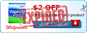 $2.00 off ONE (1) Vaprino™ A-D product