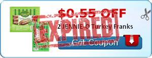 $0.55 off 2 JENNIE-O Turkey Franks