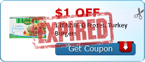 $1.00 off 1 JENNIE-O Frozen Turkey Burgers