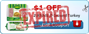 $1.00 off 2 JENNIE-O Ground Turkey