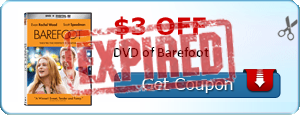 $3.00 off DVD of Barefoot