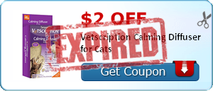 $2.00 off Vetscription Calming Diffuser for Cats