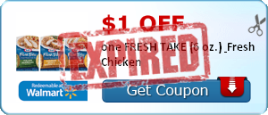 $1.00 off one FRESH TAKE (6 oz.) & Fresh Chicken