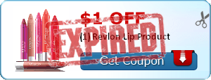 $1.00 off (1) Revlon Lip Product