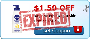 $1.50 off any one NIVEA Q10 Skin Firming Lotion