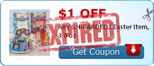 $1.00 off Any GHIRARDELLI Easter Item, 3.0 oz