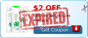 $2.00 off TWO Herbal Essences Products