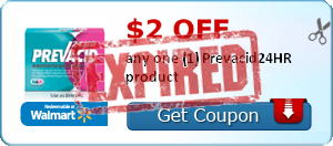 $2.00 off any one (1) Prevacid24HR product