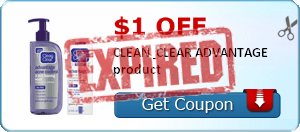$1.00 off CLEAN & CLEAR ADVANTAGE product