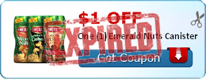 $1.00 off One (1) Emerald Nuts Canister