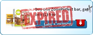 Buy one ZonePerfect bar, get one (1) free