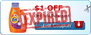 $1.00 off ONE Tide Detergent