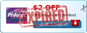 $2.00 off ONE Prilosec OTC Product