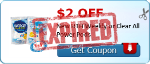 $2.00 off New HTH Weekly or Clear All Power Pods