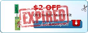 $2.00 off ONE Swiffer Starter Kit
