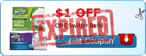 $1.00 off ONE Swiffer Refill