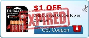 $1.00 off ONE Duracell Coppertop or Quantum