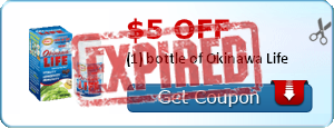 $5.00 off (1) bottle of Okinawa Life