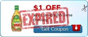 $1.00 off any 1 (one) Wish-Bone Dressing
