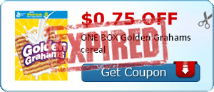 $0.75 off ONE BOX Golden Grahams cereal