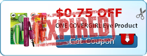 $0.75 off ONE COVERGIRL Eye Product