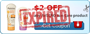 $2.00 off any AVEENO Sun Care product