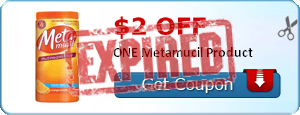 $2.00 off ONE Metamucil Product