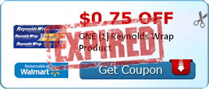 $0.75 off ONE (1) Reynolds Wrap Product