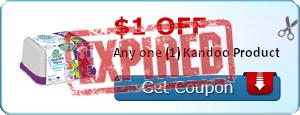 $1.00 off Any one (1) Kandoo Product