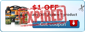 $1.00 off any OFF! Explore™ product