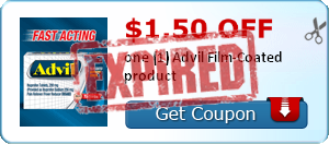 $1.50 off one (1) Advil Film-Coated product