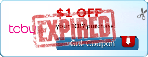 $1.00 off your TCBY purchase