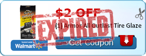 $2.00 off (1) Armor All Outlast Tire Glaze