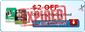 $2.00 off ONE Iams Dry Dog Food