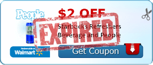 $2.00 off Starbucks Refreshers Beverage and People