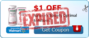 $1.00 off Nature's Bounty Optimal Solutions