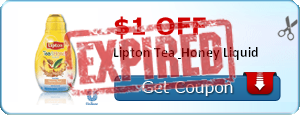 $1.00 off Lipton Tea & Honey Liquid