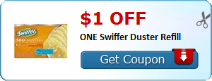 $1.00 off ONE Swiffer Duster Refill