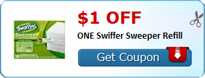 $1.00 off ONE Swiffer Sweeper Refill