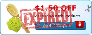 $1.50 off 2 EcoTools Bath Products