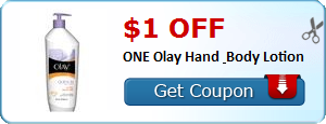 $1.00 off ONE Olay Hand & Body Lotion